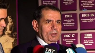 """Dursun Özbek: """"UEFA'ya giderken oyunculara borç olmaması lazım"""""""
