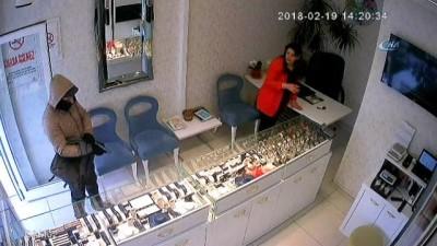 Konya'daki kuyumcuyu soyan şüpheli tutuklandı