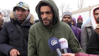 Yunanistan güvenlik güçlerince kaçakların 'geri itildiği' iddiası - EDİRNE