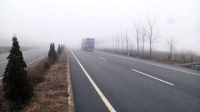 Yoğun sis ulaşımı etkiliyor - KASTAMONU