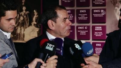 Galatasaray Kulübü eski Başkanı Özbek: 'Galatasaray'a hizmet etmekten hiçbir zaman geri durmayız' - İSTANBUL