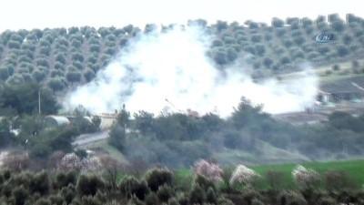 Tanklar Afrin'in kuzeyini vuruyor