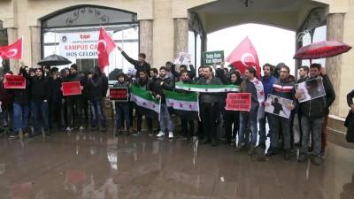 Suriyeli öğrencilerden Doğu Guta'daki katliamlara tepki - SAKARYA