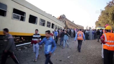 Tren kazasında 15 kişi hayatını kaybetti, 40 kişi yaralandı - MISIR