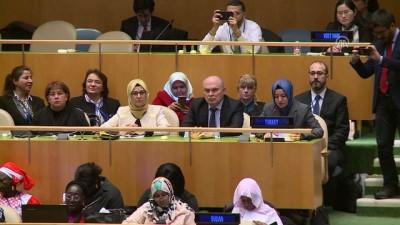 Bakan Kaya, BM Genel Kurulu'nda konuştu - NEW YORK