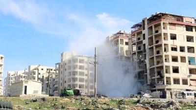Beşşar Esed rejiminin hava saldırısında 5 ölü, 15 yaralı - İDLİB