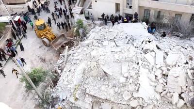Beşşar Esed rejiminin hava saldırısında 5 ölü, 15 yaralı (2) - İDLİB