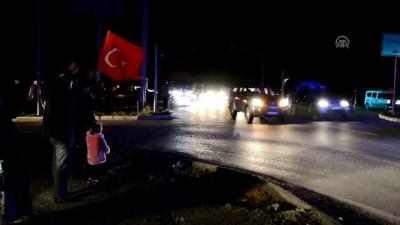Zeytin Dalı Harekatı - Askeri birlikleri taşıyan konvoy, İslahiye'ye ulaştı - GAZİANTEP