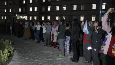 Yurt ışıkları Afrin için yandı