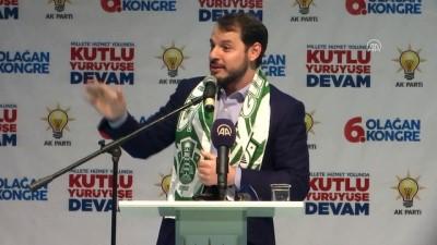 AK Parti Şile 6. Olağan Kongresi - Enerji ve Tabii Kaynaklar Bakanı Albayrak (3) - İSTANBUL