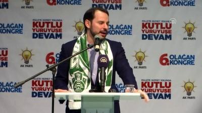 AK Parti Şile 6. Olağan Kongresi - Enerji ve Tabii Kaynaklar Bakanı Albayrak (1) - İSTANBUL