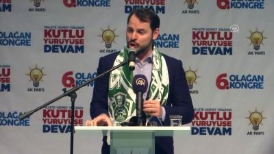 AK Parti Şile 6. Olağan Kongresi - Enerji ve Tabii Kaynaklar Bakanı Albayrak (2) - İSTANBUL