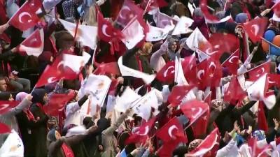 Cumhurbaşkanı Erdoğan: 'Birileri hala bizim sineceğimizi, pusacağımızı sanıyor olabilir. Emin olun çok yanılıyorlar' - SAMSUN