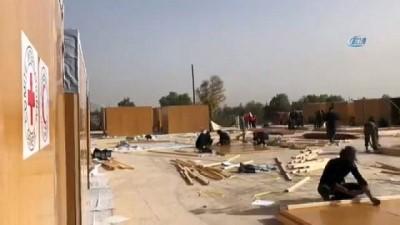 - Doğu Guta'dan ayrılan siviller için kamplar oluşturuluyor