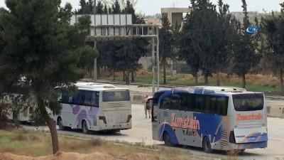 - Ahrar El Şam mensupları Doğu Guta'dan ayrılıyor