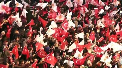 Cumhurbaşkanı Erdoğan, partisinin Samsun 6. Olağan İl kongresine katıldı (1) - SAMSUN