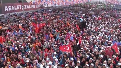 Cumhurbaşkanı Erdoğan: 'Artık metal yorgunluğu yok, Afrin'le beraber şimdi diriliş hareketi yeniden başladı' - SAMSUN
