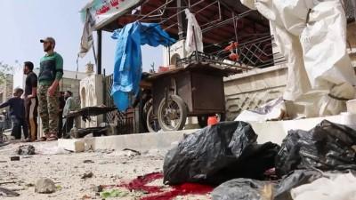 İdlib'de bomba yüklü araçla saldırı: 7 ölü, 25 yaralı