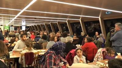 'Glutensiz Hayat' programı, Valide Sultan Gemisi'nde düzenlendi