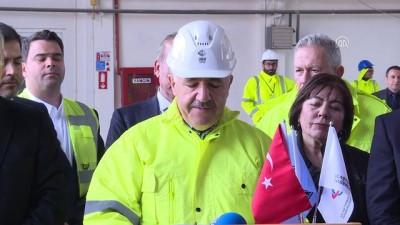 Ulaştırma, Denizcilik ve Haberleşme Bakanı Ahmet Arslan İzmir'de (1)