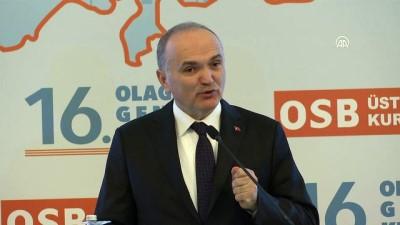 Bakan Özlü: 'Ülkemizin, sanayimizin ve OSB'lerin sürekli değiştiğini görmek bizleri memnun ediyor' - ANKARA