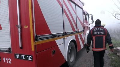 Düzce'de şüpheli ölüm