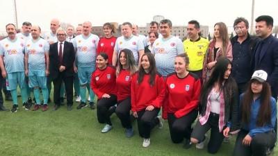 Milli Ampute Futbol Takımı Yargıtay üyelerini yendi - ANKARA