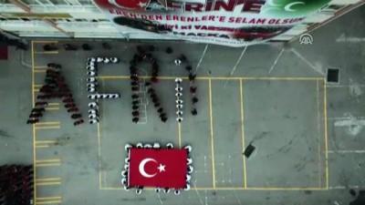 Şehit Eren Bülbül'ün arkadaşlarından Mehmetçik'e destek - TRABZON