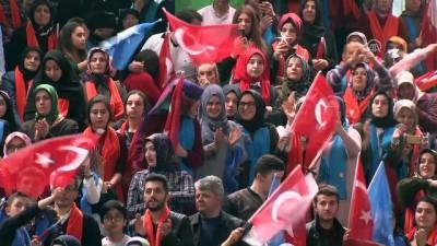Cumhurbaşkanı Erdoğan: 'Yan gelip yatarak buralara gelmedik' - GİRESUN