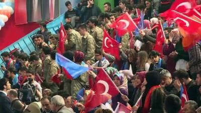 Cumhurbaşkanı Erdoğan, partisinin Giresun 6. olağan il kongresine katıldı