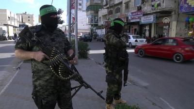 Kassam Tugayları'ndan 'savunma' tatbikatı - GAZZE