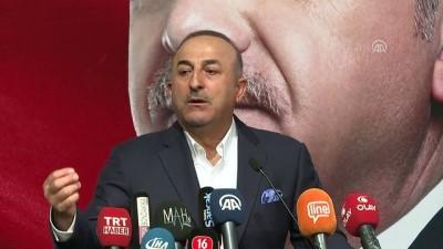 Dışişleri Bakanı Çavuşoğlu 'Avrupa'dan gelen, batıdan başka yerlerden gelen savaşçılar vardı. Neredeydi, PKK 'nın içinde. Ne oldular' - BURSA