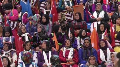 Cumhurbaşkanı Erdoğan: 'Şayet Trabzon, 2019'da Karadeniz gibi coşmazsa bizim kimseye diyecek sözümüz kalmaz'- TRABZON