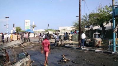 Somali parlamentosu yakınlarında bombalı saldırı - MOGADİŞU
