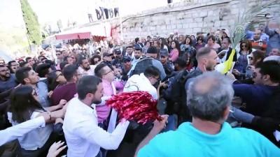 Hristiyanlar 'Palmiye Pazarı'nı Kudüs'te kutladı - KUDÜS