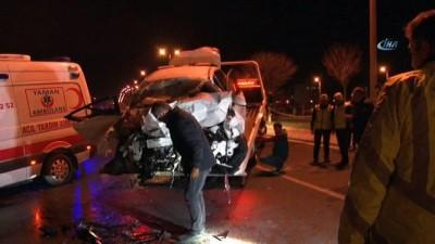 5 kişinin öldüğü kazayı görüntüleyebilmek için kaydırağa çıktılar