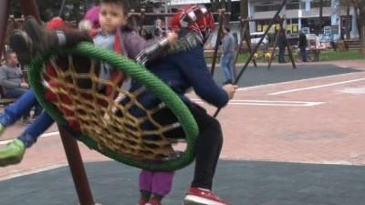 Samsunlu aileler çocuk parklarına güvenlik kamerası istiyor