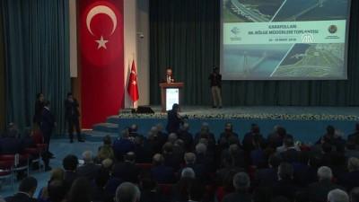 Arslan: '2 yıl içinde 81 ilin tamamını bölünmüş yolla birbirine bağlayacağız' - ANKARA