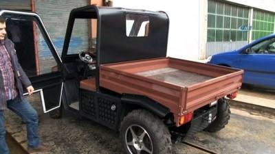 Yeğenlerine araç yapmak istedi, ortaya bölgenin ilk yerli UTV'si çıktı