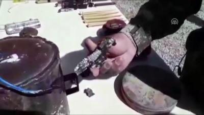 Afrin'de terör örgütünün 'EYP imalathanesi' ortaya çıkarıldı (1)