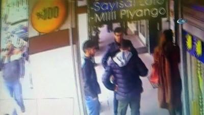 Levent'te yaşanan silahlı saldırı kamerada