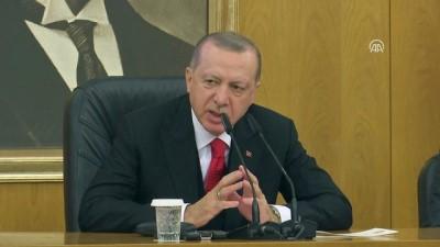 Cumhurbaşkanı Erdoğan 'Orada gereğini de Sincar'da biz yaparız. Sincar'a da bizim öyle çok fazla tahammülümüz yok' - İSTANBUL