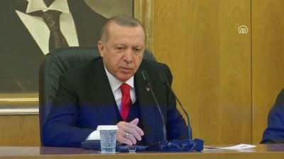 Cumhurbaşkanı Erdoğan 'Biz Münbiç ile ilgili ne diyoruz. Türkiye olarak biz kesinlikle buralarda bir işgal kuvveti olarak bulunamayız' - İSTANBUL