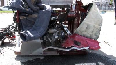Otomobilin çarptığı engelli motosiklet sürücüsü hayatını kaybetti