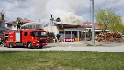 Fırın yangını: 1 yaralı - ERZİNCAN