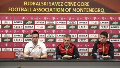 Karadağ-Türkiye maçına doğru - PODGORİCA