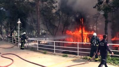 Restoranda yangın - ANTALYA