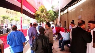 Mısır'da cumhurbaşkanlığı seçimleri - Cumhurbaşkanı adayı Musa oy kullanma - KAHİRE