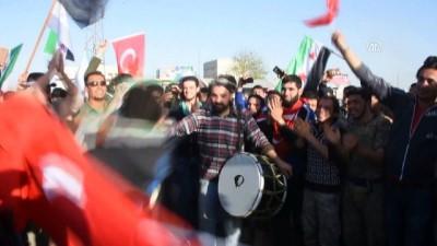 Tel Rıfatlılar, teröristlere karşı Türkiye'den yardım istedi - AZEZ