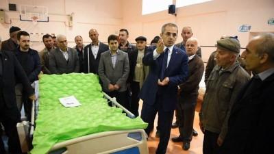 Tosya Kaymakamlığı 30 yaşlı hastaya modern hasta yatağı verdi
